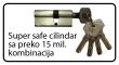 Super safe cilindar sa preko 15 mil. kombinacija