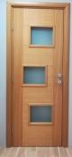 Sobna vrata sa horizontalnim podelama i staklenom ispunom