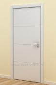 Bela sobna vrata sa 4 vertikalna polja
