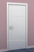 Bela sobna vrata sa 2 vertikalna i 4 horizontalna polja