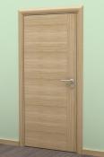 Sobna vrata od furnira hrasta sa vertikalnom podelom