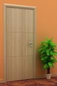 Sobna vrata od vert. furnira hrasta sa 3 polja