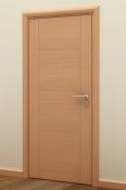 Sobna vrata od furnira bukve sa 2 vertikalne podele