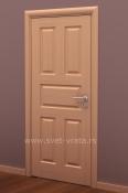 Sobna vrata od furnira bukve i masiva sa 5 polja