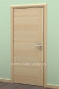 Sobna vrata od furnira jasena sa vertikalnom podelom