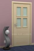 Sobna vrata od jasenovog furnira - Kansas plus