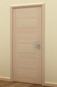 Sobna vrata od furnira jasena sa 2 vertikalne podele