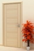 Sobna vrata od furnira jasena sa 3 polja i 2 vertikalne podele