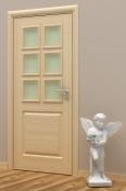 Sobna vrata od jasenovog furnira i masiva.